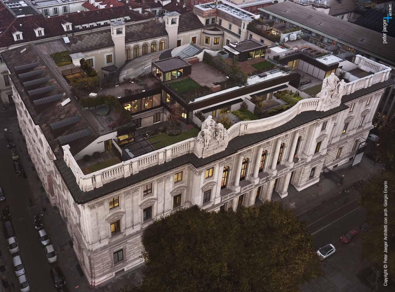 Copyright Peter Jaeger Architetti con Arch. Giorgio Emprin