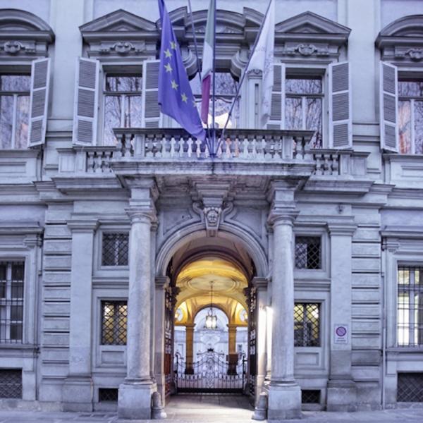 Palazzo Birago di Borgaro, sede istituzionale della Camera di commercio di Torino, ed Ë situato in via Carlo Alberto 16, nel centro della citt‡