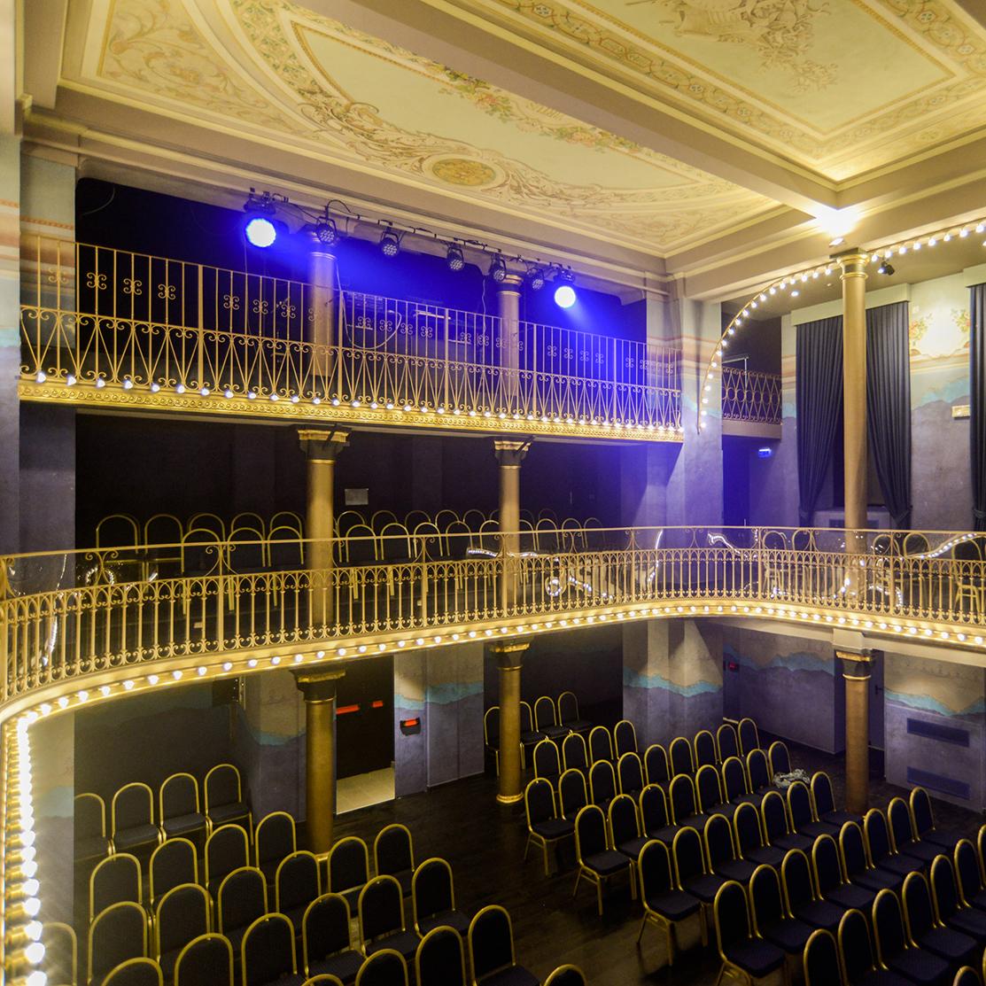 Teatro 'Le Musichall' lancia l'#LaCulturaNonTiAbbandona